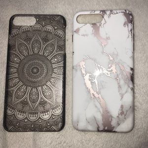 Accessories - Bundle of 2 IPhone 7/8 Plus Cases